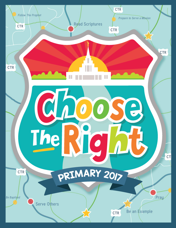 ... Bright and Beautiful: 2017 Free Primary Printables: Choose the Right