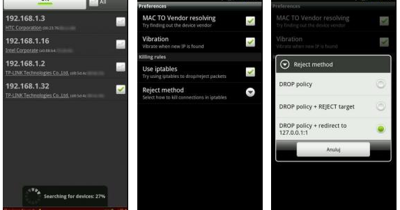 how to use wifikill apk in android