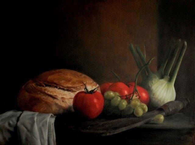 Фигуративные картины маслом. Helen Masacz