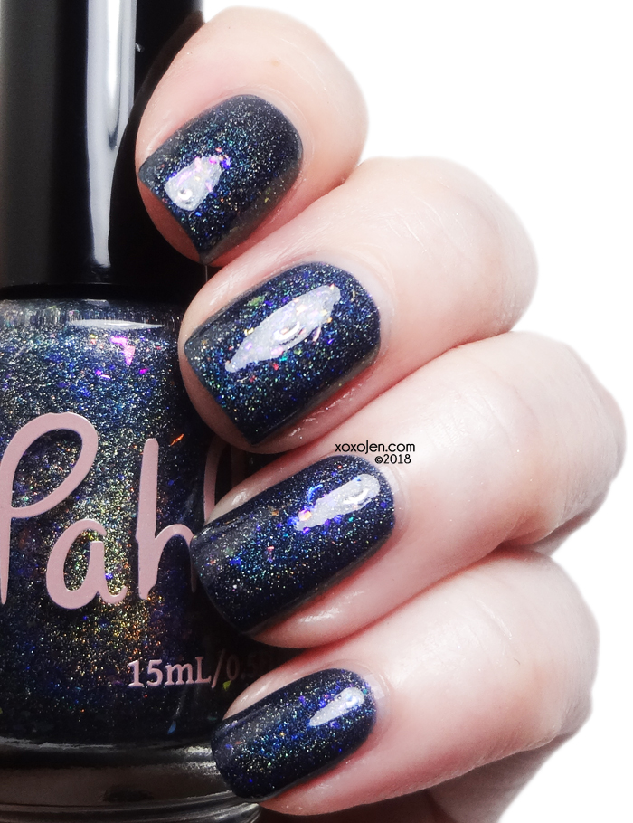 xoxoJen's swatch of Pahlish Nocturne