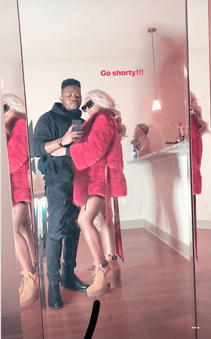 Olamide and his wife