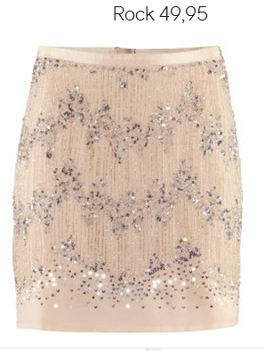 Chiffon Sequin Skirt H&M Fall 2012 Collection