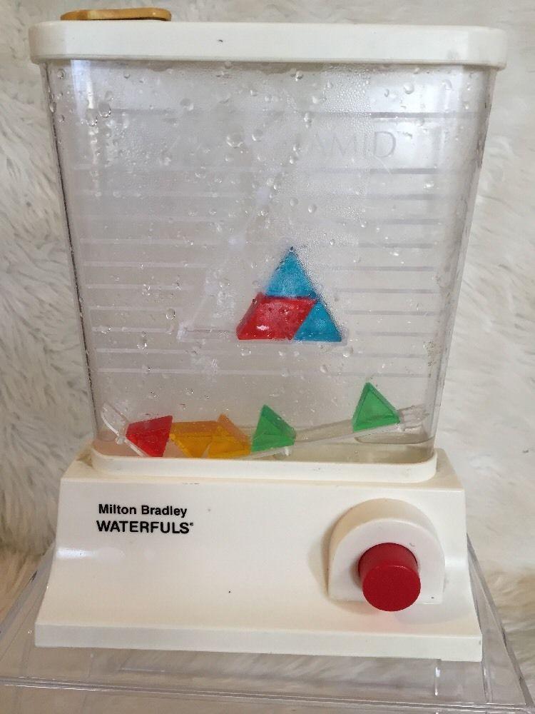 80 S Milton Bradley Toys : Tomy water games vintage toys waterful wonderful jeu d eau
