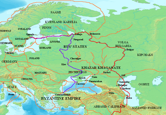 Route S Trade Varangian