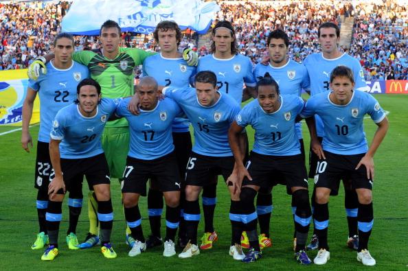 Formación de Uruguay ante Chile, Clasificatorias Brasil 2014, 11 de noviembre de 2011