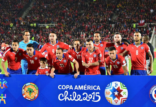 Formación de Chile ante Ecuador, Copa América 2015, 11 de junio