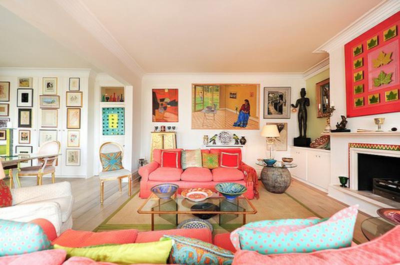 Id es de conception color es pour votre salons d cor de for Idee living
