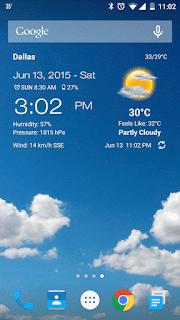 افضل تطبيق لمعرفة درجة الحرارة اليوم للاندرويد والايفون