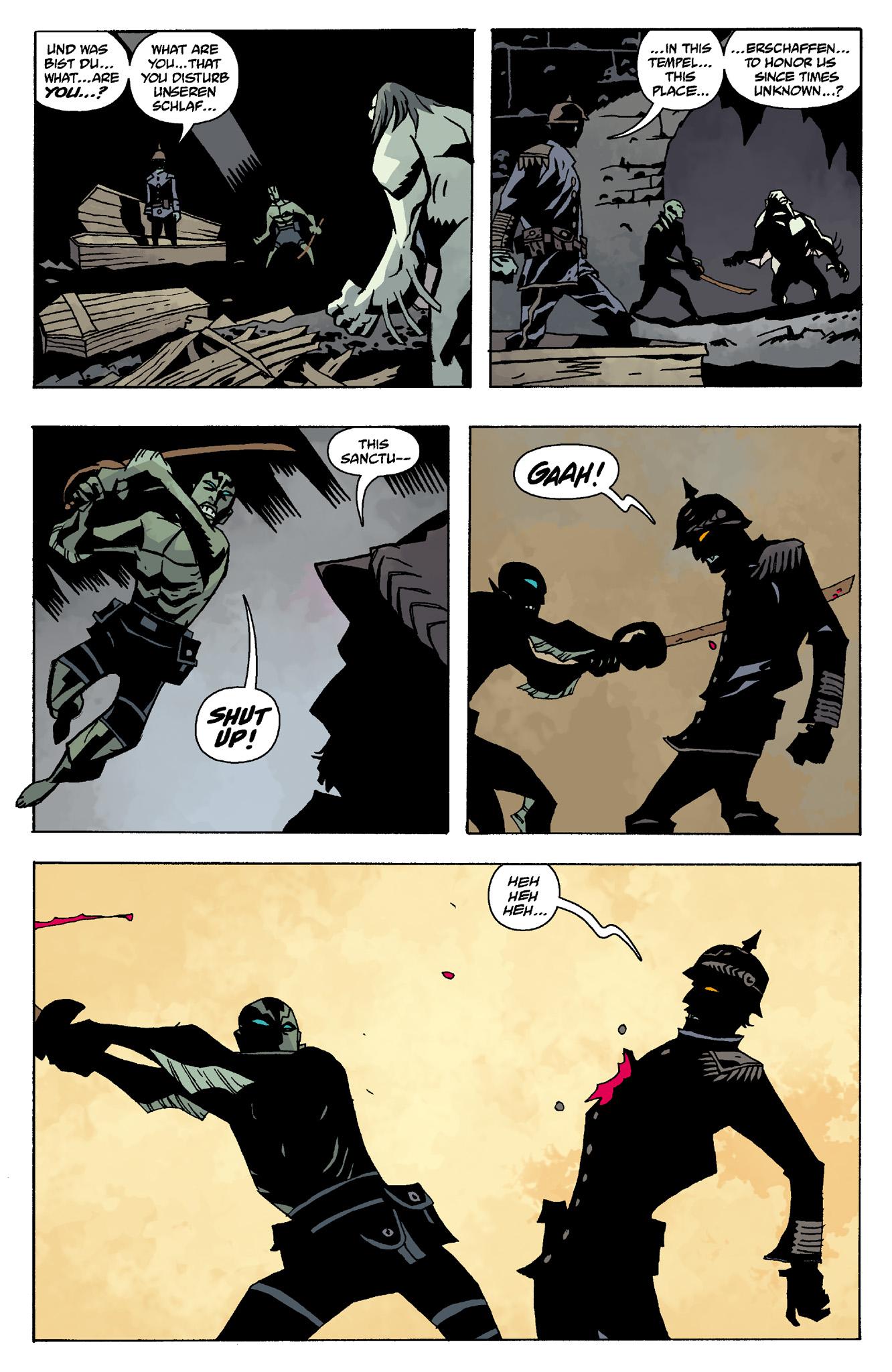Read online Abe Sapien comic -  Issue #8 - 18