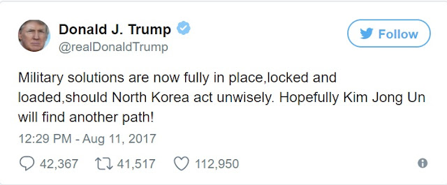 US Vs North Korea: Trump Shares Photos Of U.S Jet Ready To 'Fight Tonight', Says Military Solutions Are Now Fully In Place