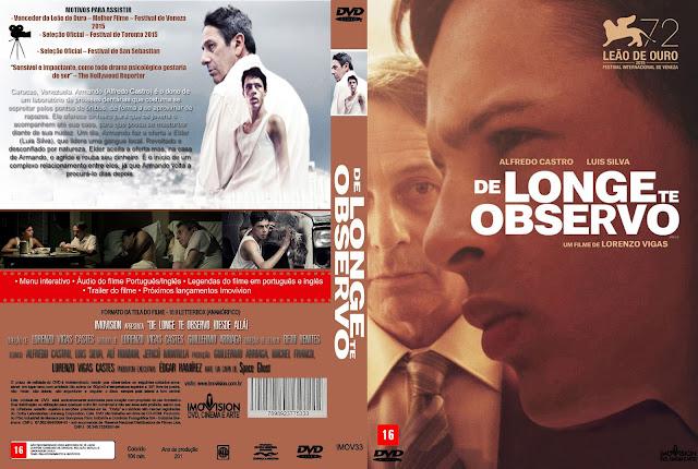 Capa DVD De Longe Te Observo