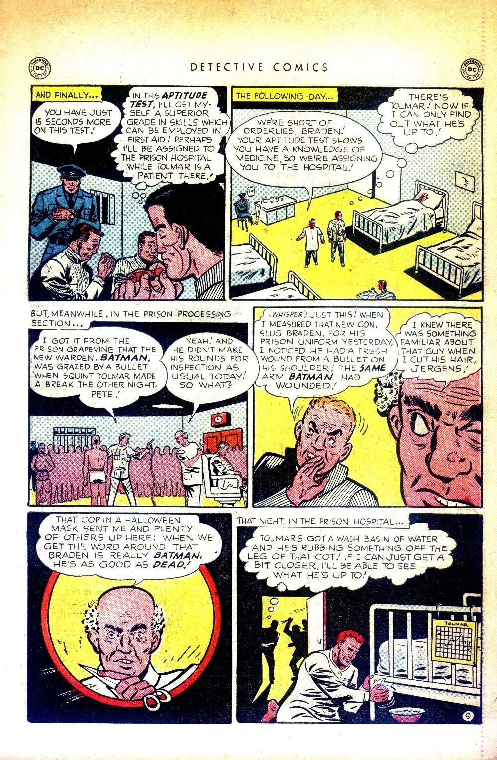 Read online Detective Comics (1937) comic -  Issue #169 - 11