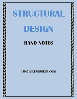 Structural Design Hand Notes by Dr. Muyasser M. Jomma'h of Tikrit University PDF Download