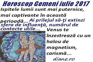 Horoscop iulie 2017 Gemeni