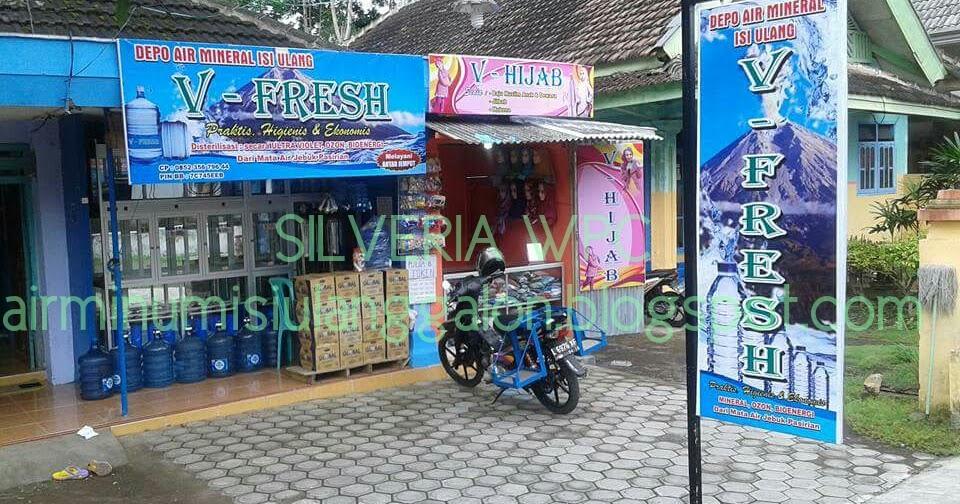 Contoh Spanduk Air Isi Ulang Ro - desain banner kekinian