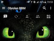 BBM MOD Dark Theme versi terbaru 3.3.6.51 dan Versi Lama Tanpa Iklan
