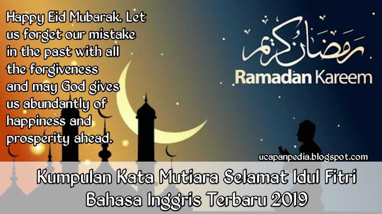 Ucapan Selamat Idul Fitri 2019 Bahasa Inggris Nusagates