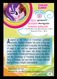 MLP Starlight Glimmer Series 5 Trading Card