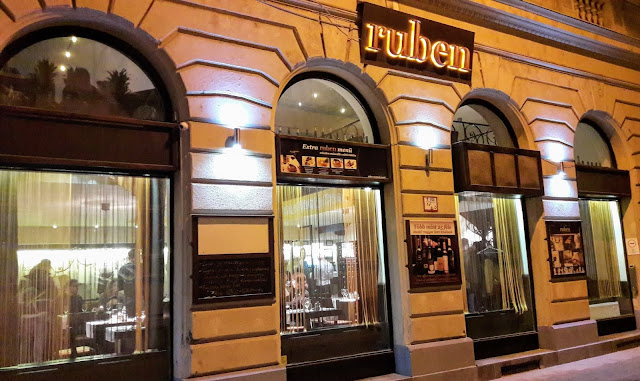 Delicious food in Budapest Hungary