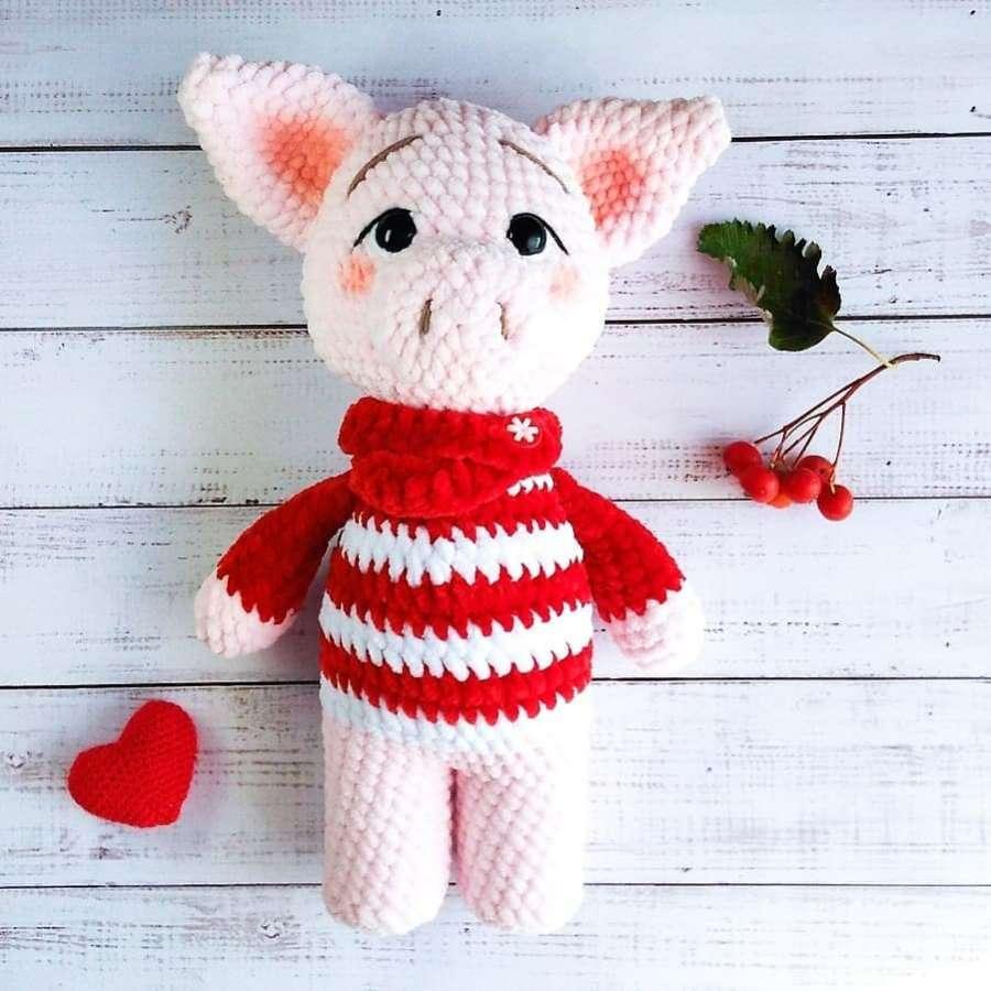 PATTERN: Pig Amigurumi piglet crochet pattern and tutorial   Etsy   900x900