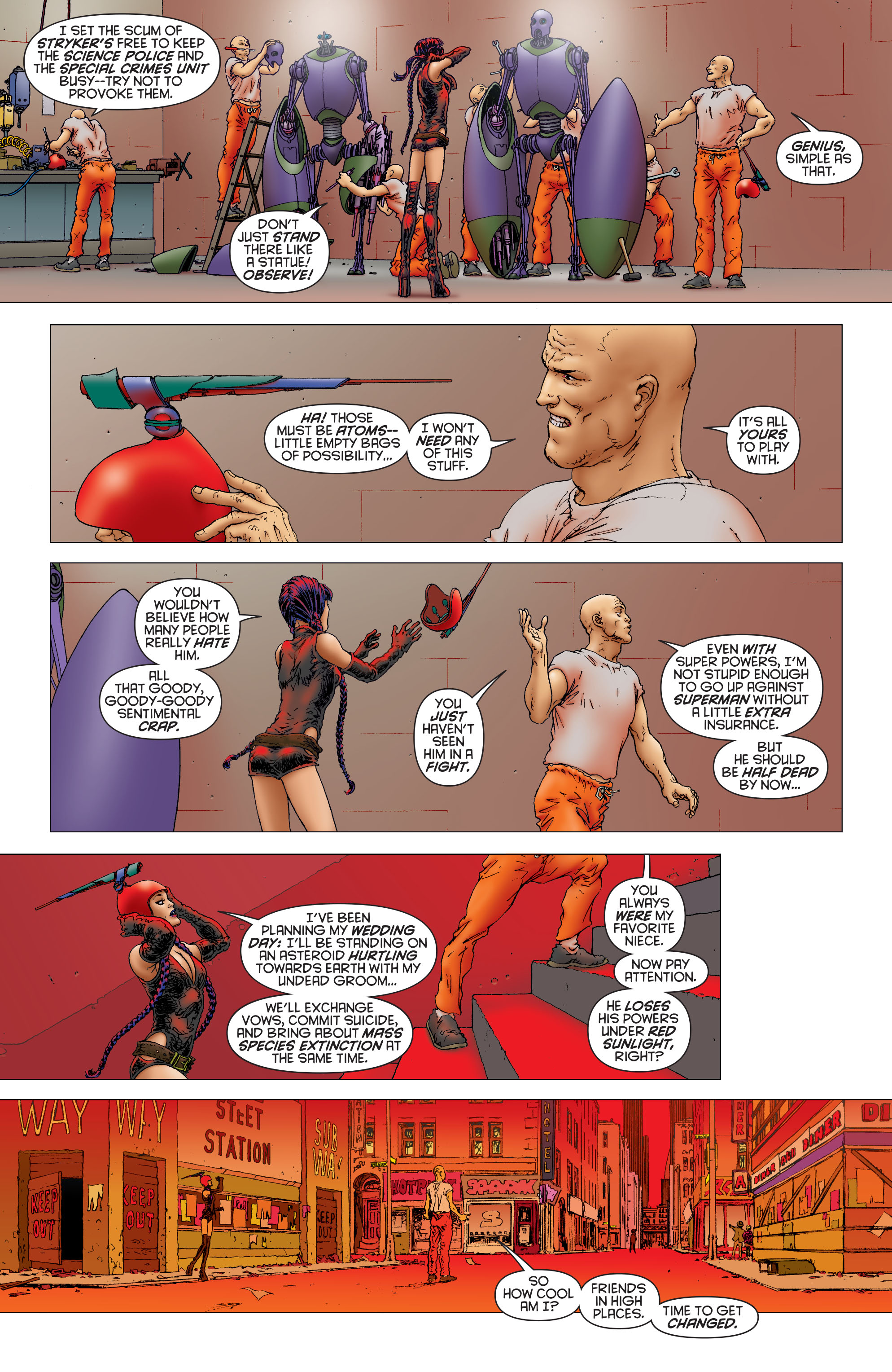 Read online All Star Superman comic -  Issue #11 - 9