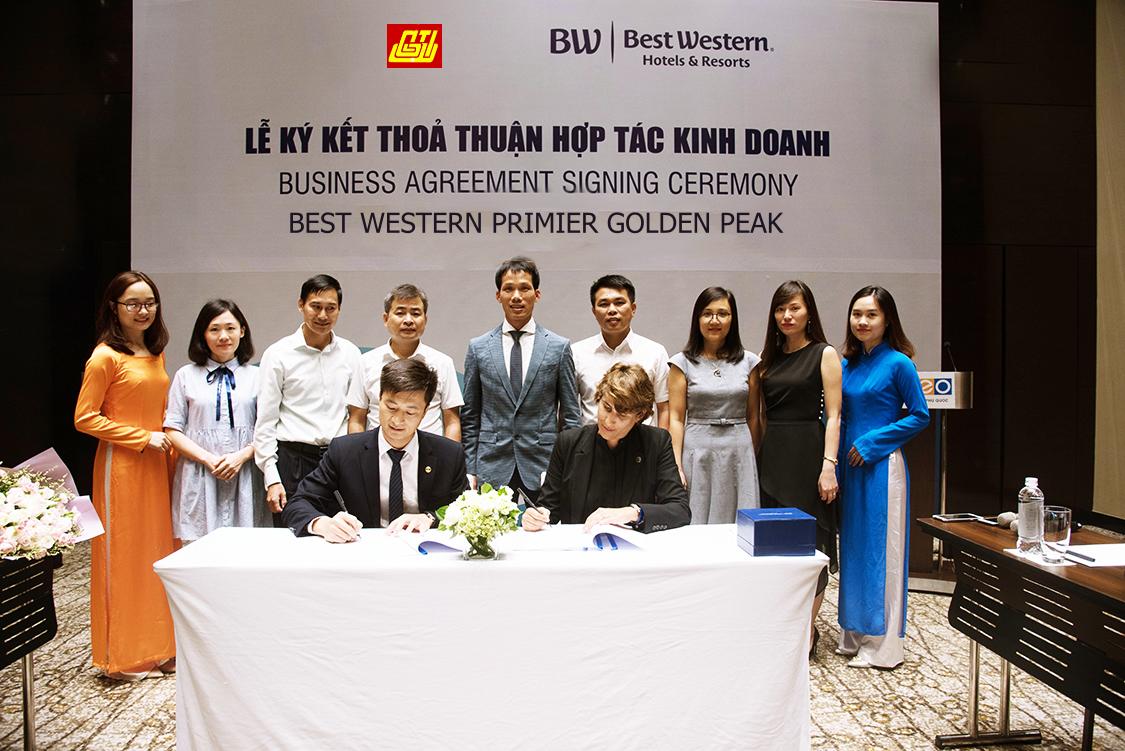 Lễ ký kết thoả thuận hợp tác kinh doanh Golden Peak Nha Trang