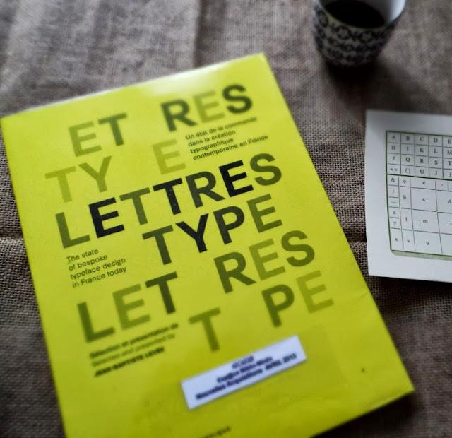 Lettres Type paru chez Ypsilon éditeur