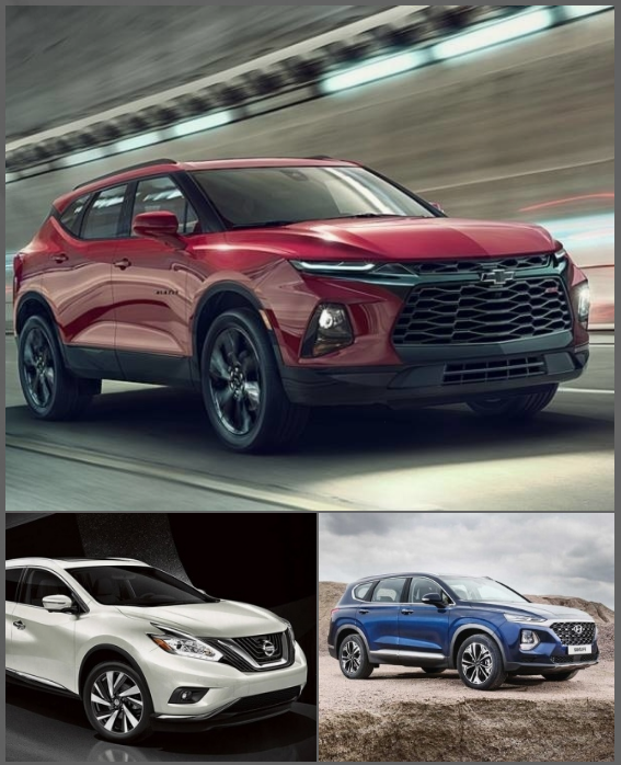 Some Midsize Suv Competitors For The Edge Include The Nissan Murano Starting At  The New  Chevy Blazer Officially Starting At