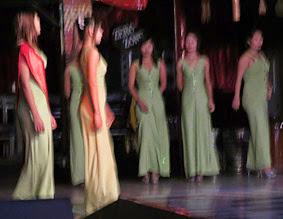 Yangon show girls