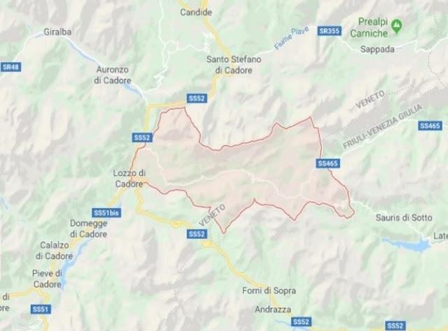 هزة ارضية نواحي بللونو شمال إيطاليا