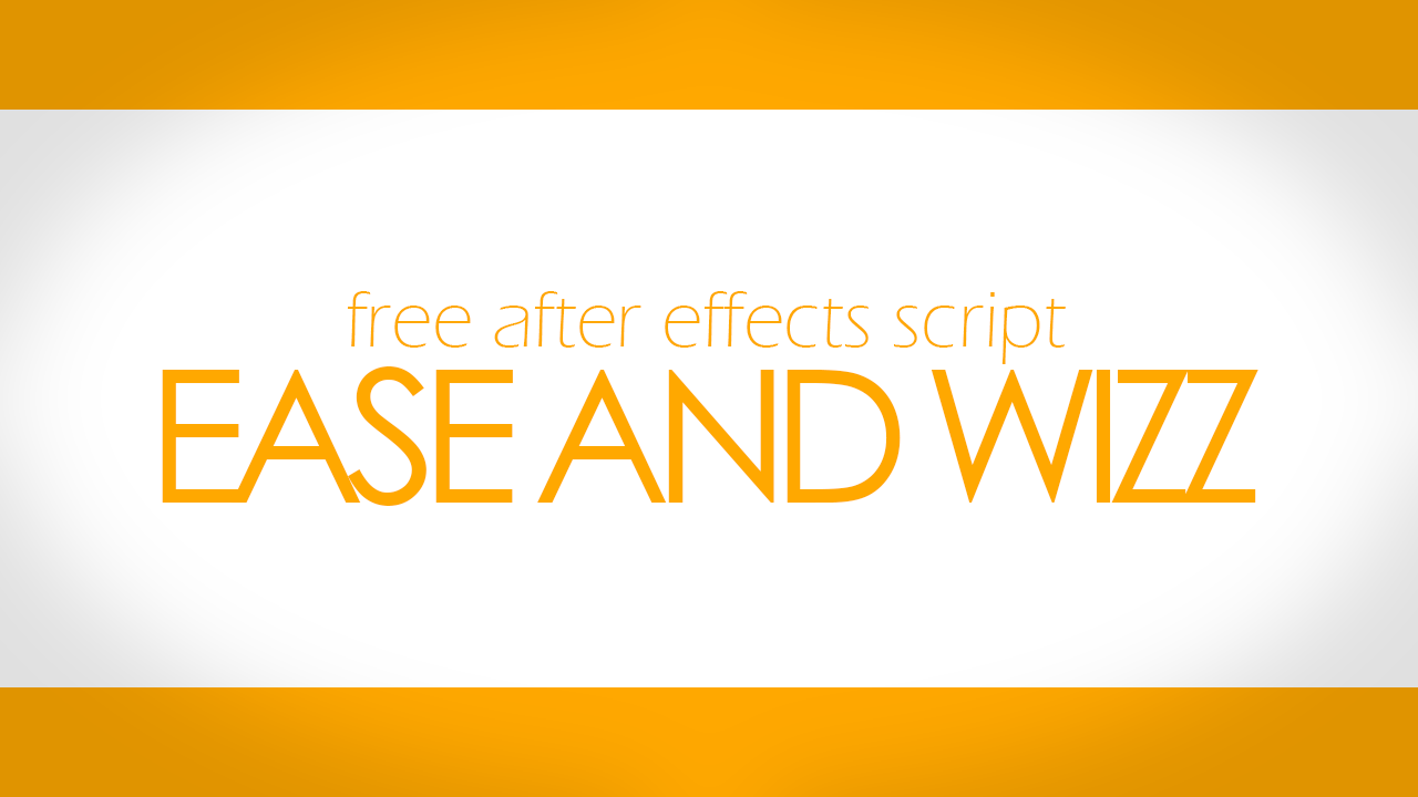 after effects ease and wizz free download