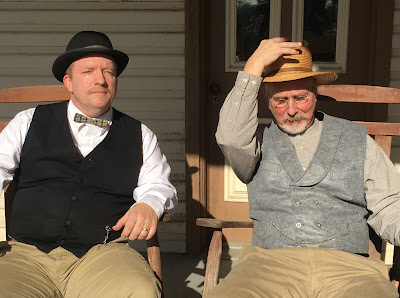Henry and George Landis, portrayed by Tim Essig and Rick Brouse