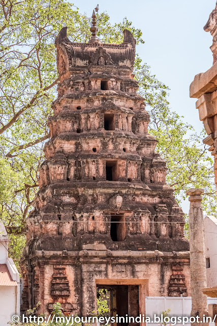 Sandur Kumaraswamy Temple Tower