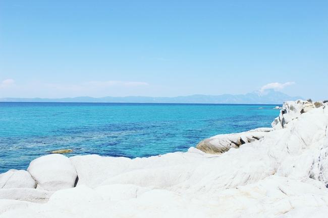 Divlja priroda Sitonije, more i stene