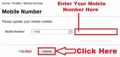 how to change mobile number in kotak mahindra bank online