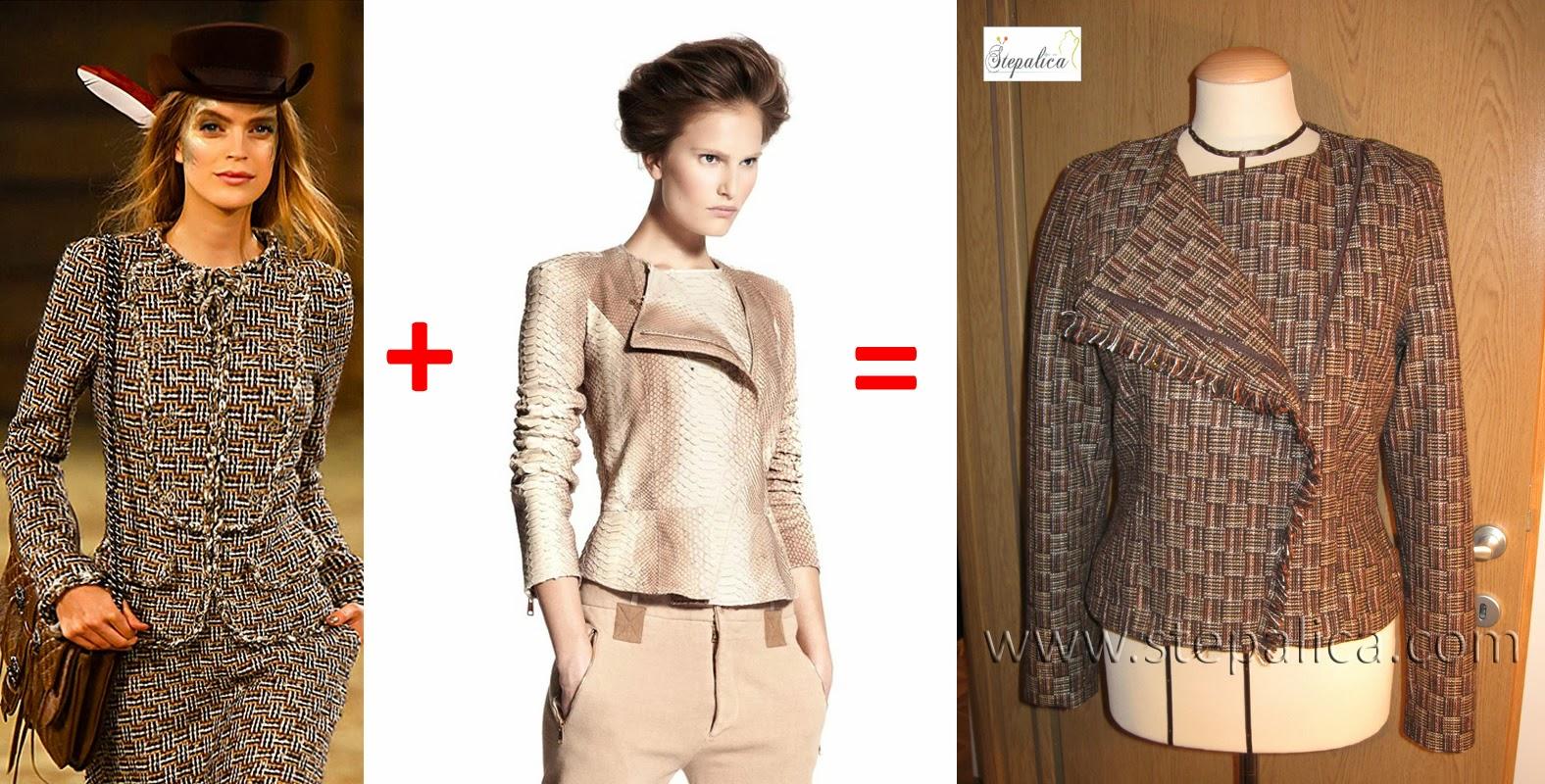 Štepalica: A. Mekvin jakna u Šanel stilu