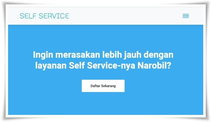 Kini sudah hadir cara menagih iuran berbasis online bernama narobil