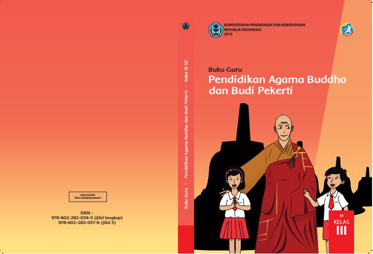 Download Gratis Buku Guru Pendidikan Agama Budha Dan Budi Pekerti Kelas 3 SD Kurikulum 2013 Format PDF