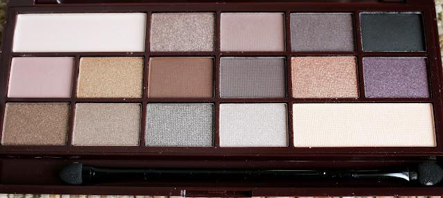 palette chocolate i heart makeup
