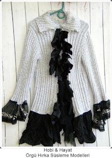 Giysi Süsleme - Hırka Süsleme - Hobi Moda - Kendin Yap 4