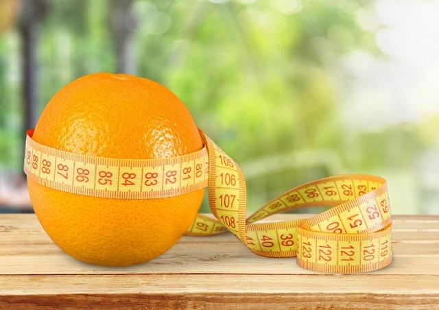 Orange for diet