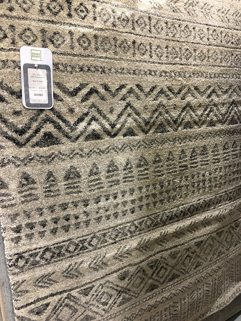 Rug selection at Homesense