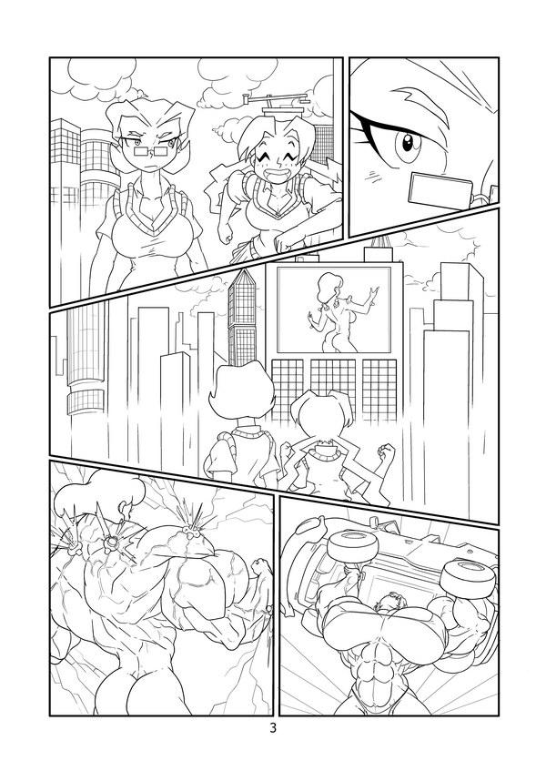 Grow Comic 5 Bustartist