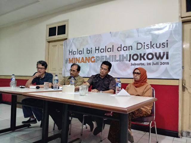 #MinangPemilihJokowi Perangi Hoax Terkait Jokowi