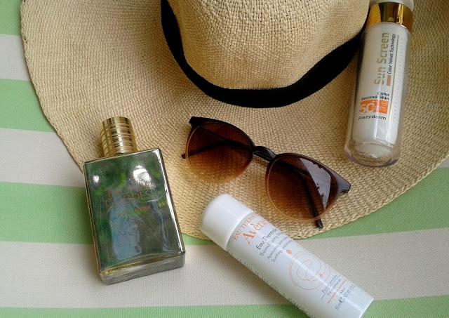 summer essentials, frezyderm, sunscreen velvet, avene, eau thermale, estee lauder, bronze goddess