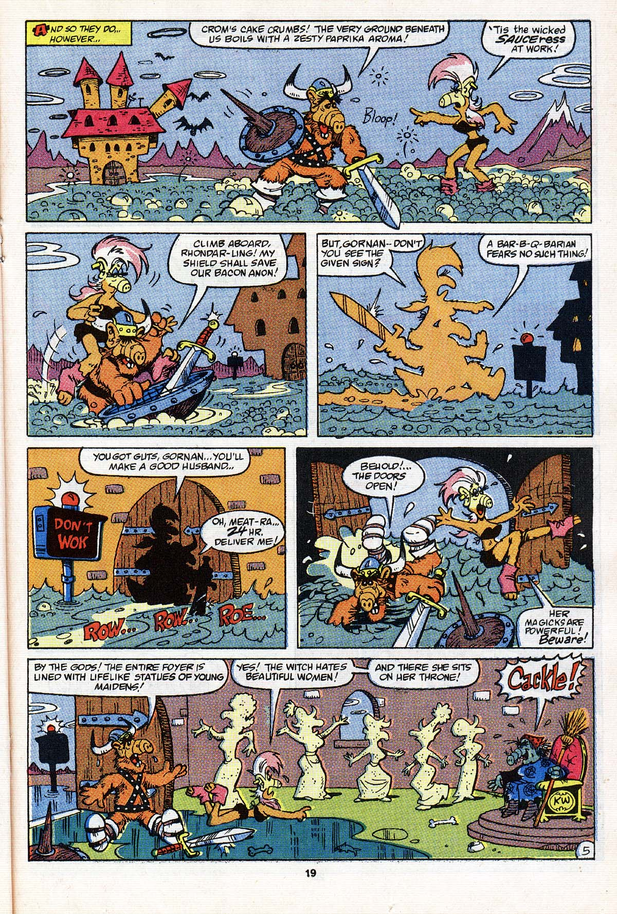 Read online ALF comic -  Issue #20 - 15