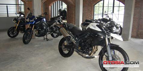 Dijual Mulai Rp 300 Jutaan, Motor Triumph Tampil di Gandaria City Bulan Depan