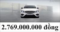 Giá xe Mercedes E300 AMG 2017