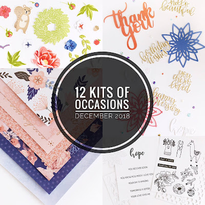 The 12 Kits of Occasions: December 2018