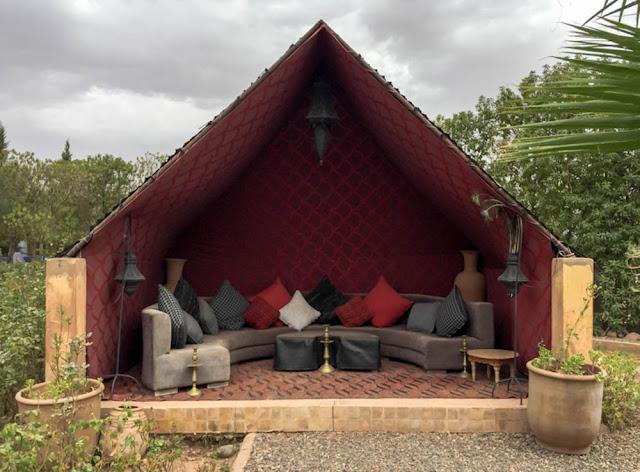 Berber tent